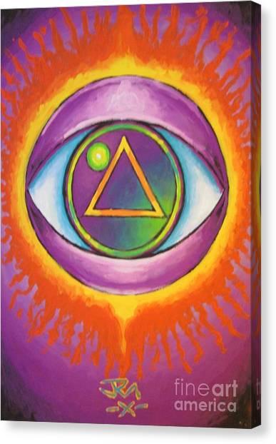 All Seeing Eye Canvas Print by Jedidiah Morley