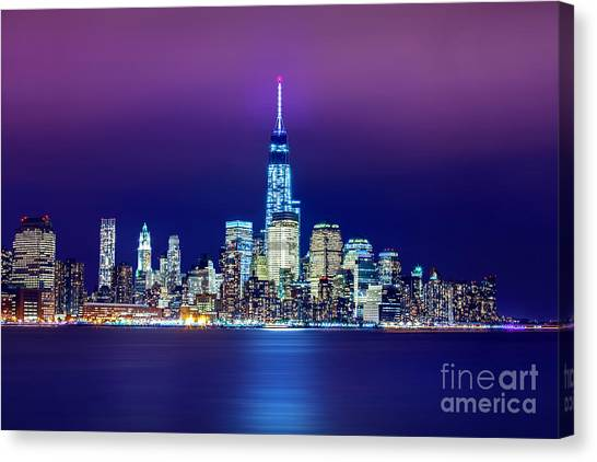 Broadway Canvas Print - All That Glitters by Az Jackson