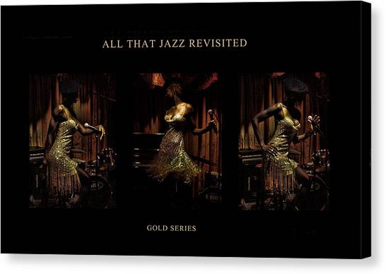 All That Jazz Revisited Canvas Print by Jerome Holmes