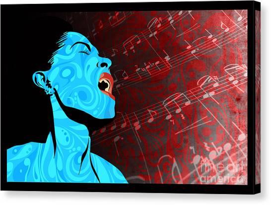 Swing Canvas Print - All That Jazz by Sassan Filsoof