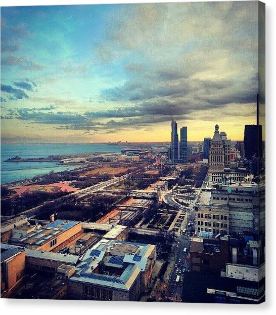 Skylines Canvas Print - All The Snow Is Gone by Jill Tuinier