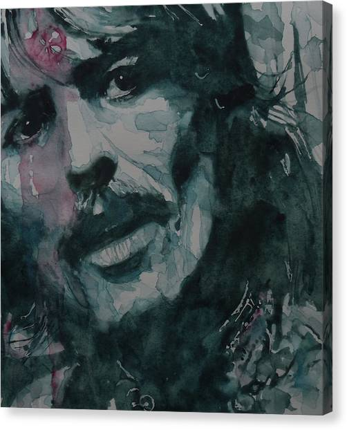 George Harrison Canvas Print - All Things Must Pass      @2 by Paul Lovering