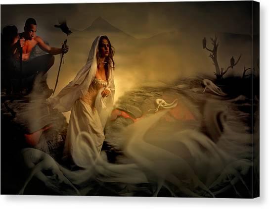 Allegory Fantasy Art Canvas Print
