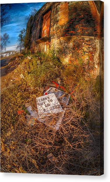 Alley Carry Out Canvas Print