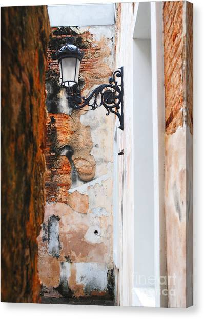 Alley Of Jail Canvas Print