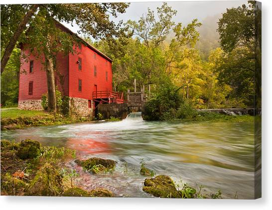 Alley Spring Mill - Eminence Missouri Canvas Print