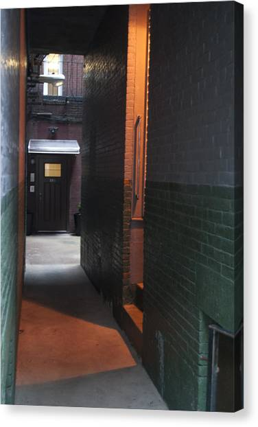 Alley Way Canvas Print by Gretchen Lally