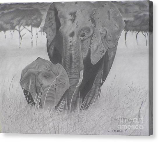Allmother Canvas Print