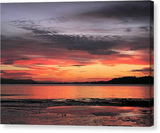 Alluring Sunset Canvas Print