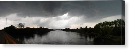 Almost A Waterspout Canvas Print