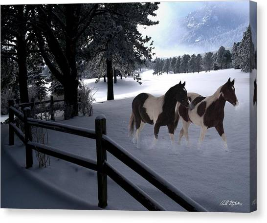 Almost Christmas Canvas Print