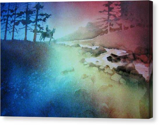 Almost Home Canvas Print by John  Svenson