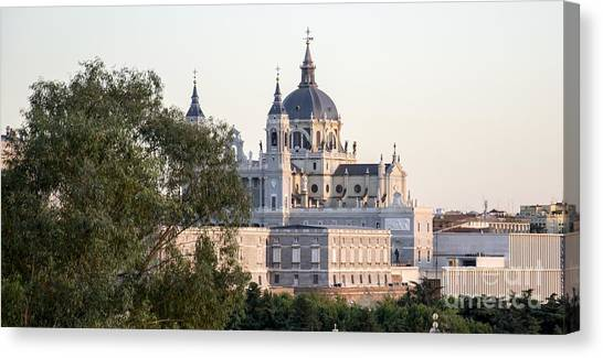 Almudena Church Madrid Canvas Print