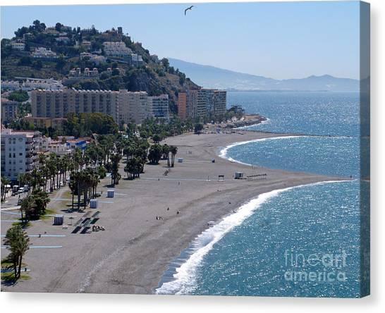 Almunecar Beach - Andalucia - Spain Canvas Print
