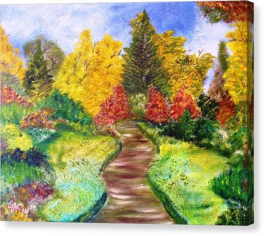Along The Shunga Trail Canvas Print
