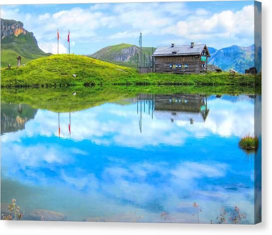 Alpine Blue Canvas Print