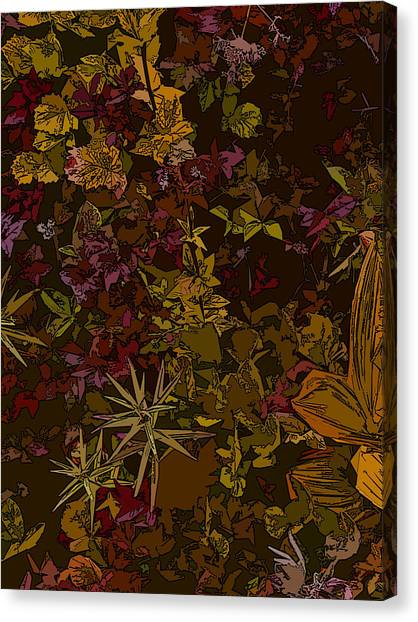 Alpine Groundcover Canvas Print