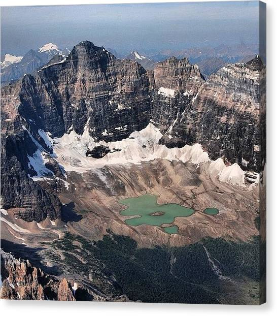 Glaciers Canvas Print - Alpine Lakes by Stephen Schmuland