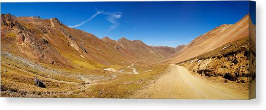 4x4 Canvas Print - Alpine Loop Scenic Byway Passing by Panoramic Images