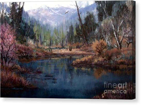 Alpine Wonder Canvas Print by W  Scott Fenton