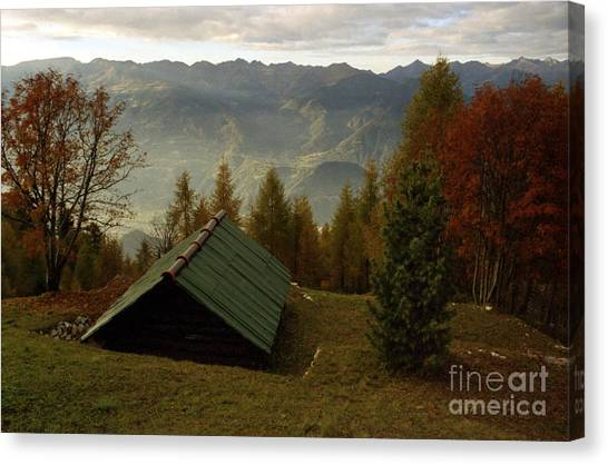 Alps Canvas Print by Candido Salghero