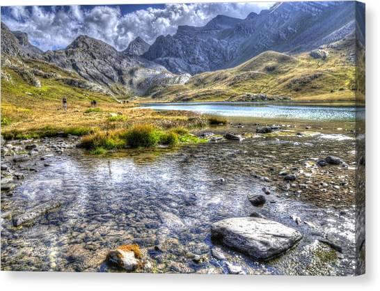Alps Southern France Canvas Print by Seruddin Salleh