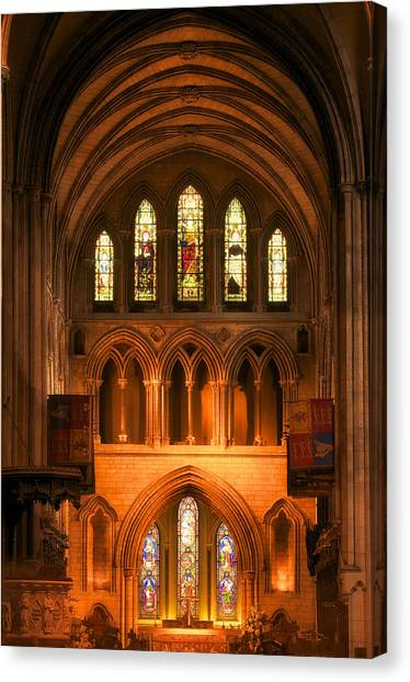 Altar Of St. Patrick's Cathedral Canvas Print