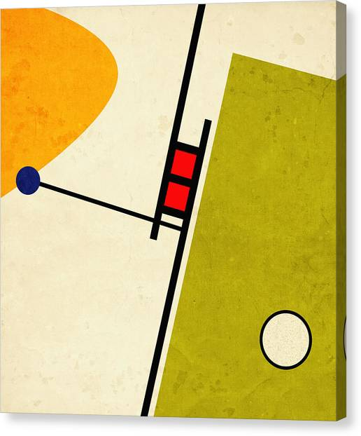 Retro Canvas Print - Alternate Approach by Richard Rizzo