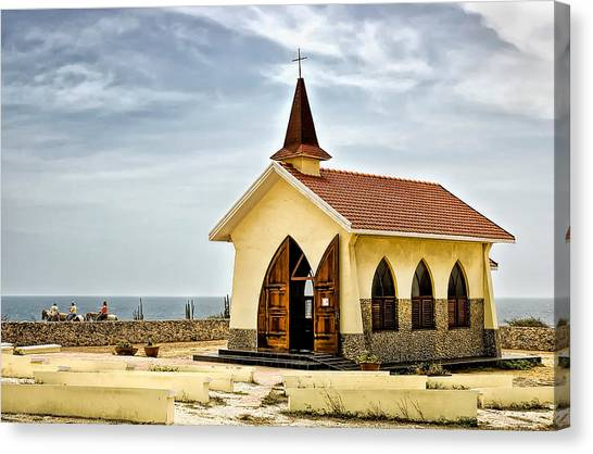 Alto Vista Chapel Aruba Canvas Print