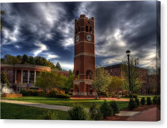 Alumni Tower-wcu Canvas Print