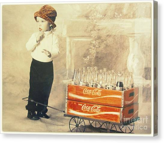 Always Coca- Cola Canvas Print