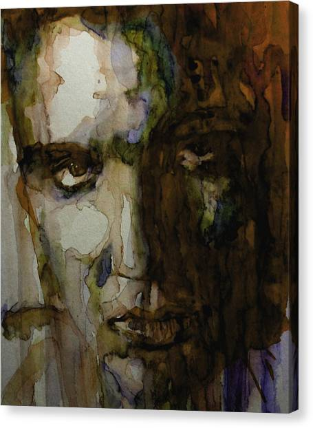Elvis Canvas Print - Always On My Mind by Paul Lovering