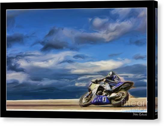 Ama Superbike Josh Jayes Canvas Print