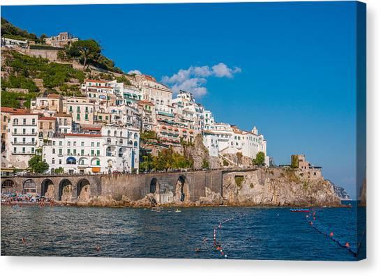 Amalfi Hills Canvas Print