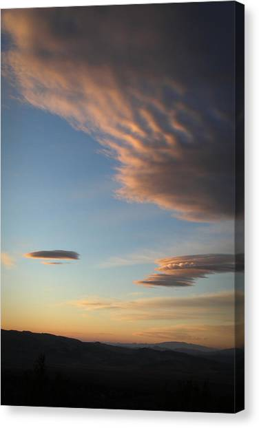 Amargosa Aliens Canvas Print