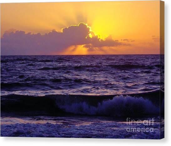 Amazing - Florida - Sunrise Canvas Print
