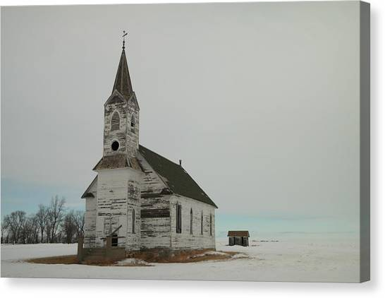 Amazing Grace In North Dakota Canvas Print