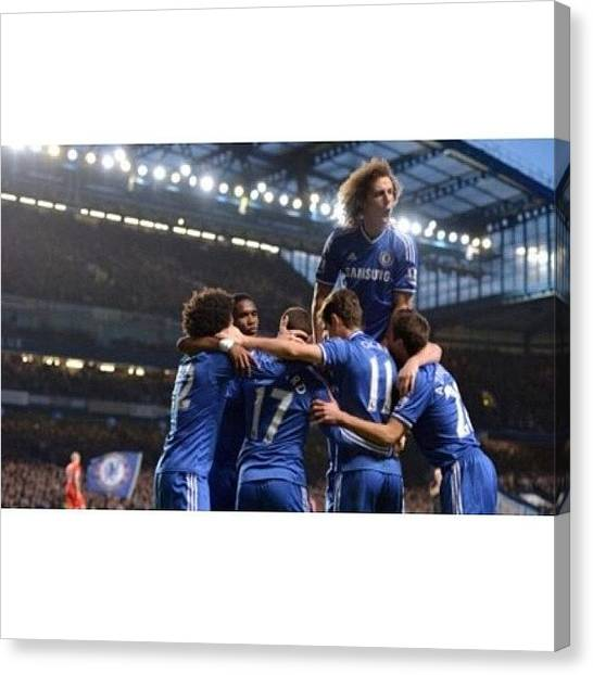 Shakira Canvas Print - Amazing Perfomance By @chelseafc by Inas Shakira