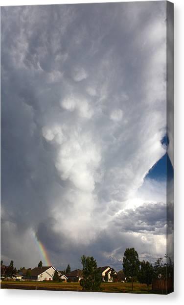 Amazing Storm Clouds Canvas Print