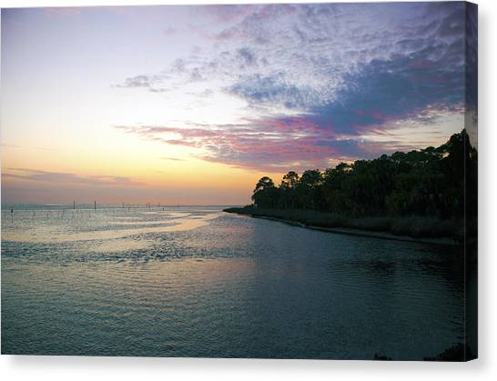 Canvas Print featuring the photograph Amazing View by Beverly Stapleton