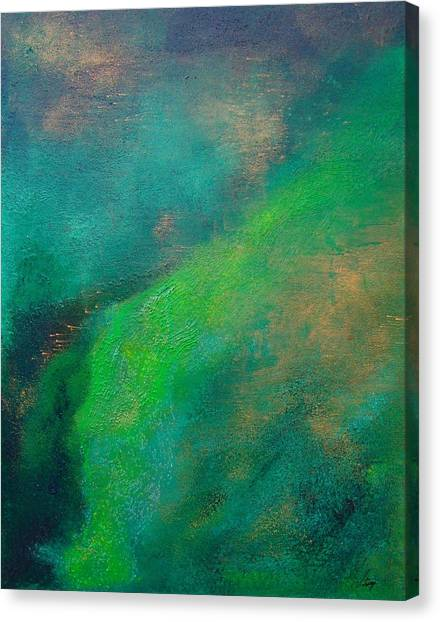 Amazon Stream Canvas Print by Jay Strong