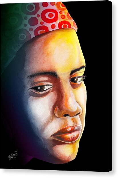 Bittersweet Canvas Print - Ambivalence by Anthony Mwangi