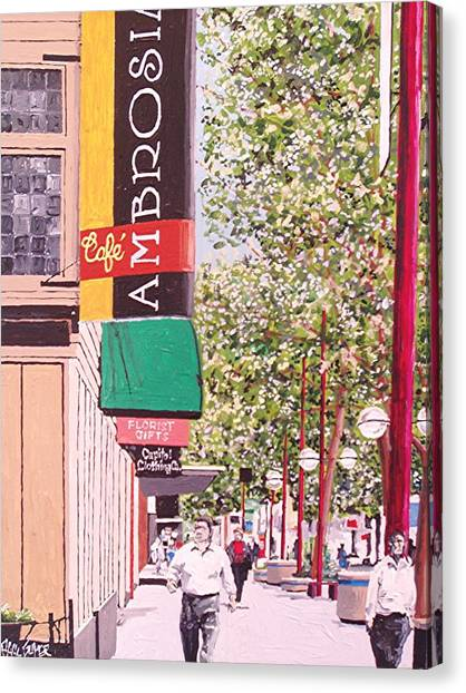 Ambrosia At Eleventh And K Canvas Print by Paul Guyer