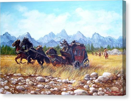 Ambush Canvas Print