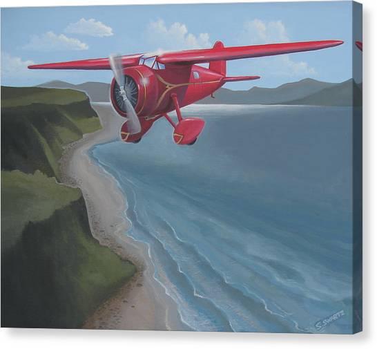 Amelia's Lockheed Vega Canvas Print