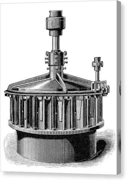 Mac Canvas Print - 'america' Mccormick Turbine by Science Photo Library