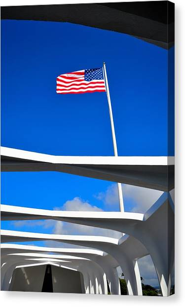 America Strong Canvas Print