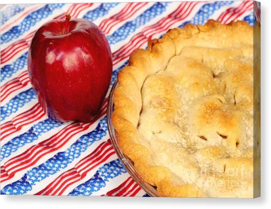 American As Apple Pie Canvas Print