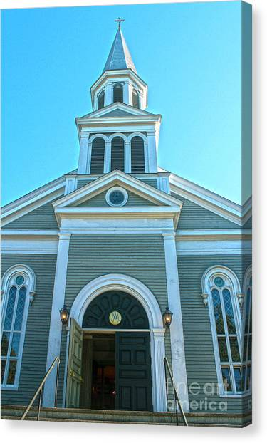 American Church Canvas Print