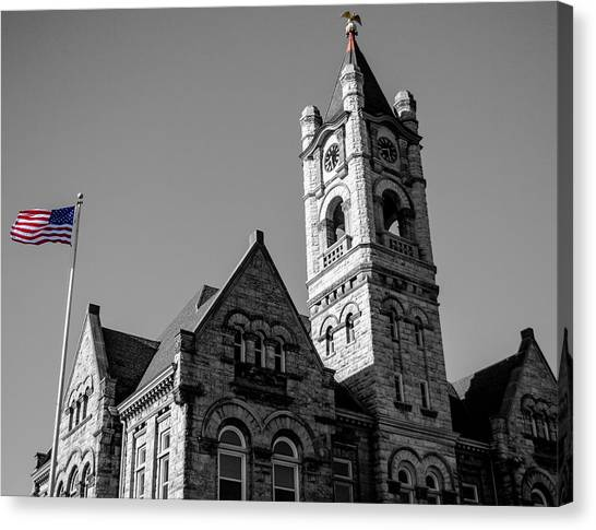 American Courthouse Canvas Print